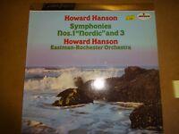 Howard Hanson Eastman-Rochester Orchestra – Symphonies Nos. 1 & 3 Vinyl LP