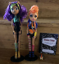 Monster High  **Clawdeen And Howleen Wolf** Exclusive Sister Dolls & Pet
