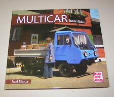 Multicar M22, Multicar  24,  25, 26, Dieselameise DK 2002 - 2004!