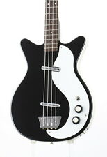 Danelectro 59DC LONG SCALE BASS Black Used Rosewood Fingerboard w/Soft Case