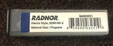 Radnor Propanenatural Gas Cutting Tip 6290nx 2 Harris Torch Us Seller Fast Ship