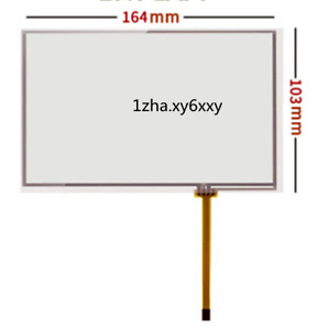 """1PCS FOR 7"""" 165*104 164*103mm 4wire Resistive Touch Screen For AT070TN82 #zh"""