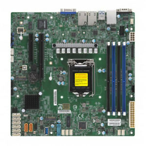 Supermicro MBD-X11SCH-F-O Motherboard E-2100 LGA1151 C242 128GB DDR4 PCI