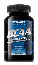 Dymatize NUTRITION BCAA B6 COMPLEX 2200 marca CATENA AMINOACIDI 200 caps
