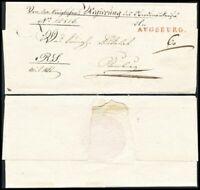 1833, kpl. portofr. Dienstbrief (Regierungs-Sache) von Augsburg nach Neuburg