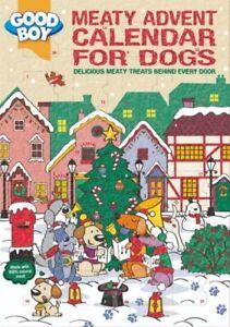 Good Boy Meaty Treats Dog Advent Calendar   100% Natural Christmas Treats
