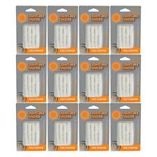Ultimate Survival Technologies Light-Me Tinder Quick Fire Starters 12-Packs of 8
