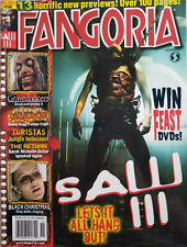 Fangoria Magazine Nov 2006 Saw Iii Horror Movies Black Christmas No Label Vg