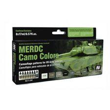 AV Vallejo - MERDC Camo Colors Acrylic Paint Set # 71202
