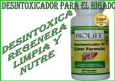 DESINTOXICADOR PARA EL HIGADO  (100% Natural)
