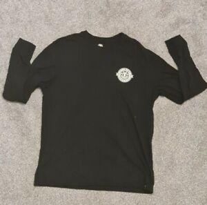 Element Long Sleeve T Shirt - Large Black