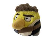 "Angry Birds Star Wars 5"" Plush Yellow Bird Han Solo 2012 Commonwealth"