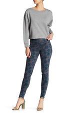 Legging  HUE Womens Mod Floral Original Denim Color Thunder Size X/L    U16939H