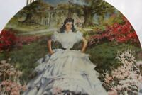 Limited Edition Scarlett - Gone with the Wind Collection -Knowles Plate