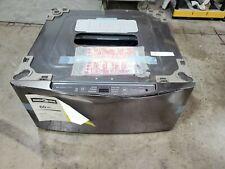 Open Box 29 in. 1.0 cu. ft. SideKick Pedestal Washer Black Ss Wd205Ck - A17