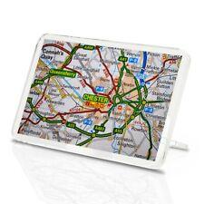 Imán Clásico Con Soporte-Chester Inglaterra Reino Unido GB Mapas de viaje #44573