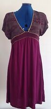 Frrench Connection Purple Gold Dress size 10