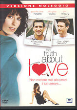 THE TRUTH ABOUT LOVE - DVD (USATO EX RENTAL)