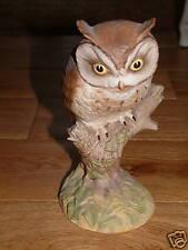 Aynsley Porcelain Scops Owl Designed by John Aynsley
