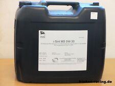 4,90€/l Agip ENI  I-Sint MS 5W-30 20 L MB 229.52 BMW LL04  Leichtlaufmotorenöl