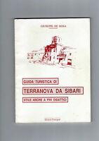 DE ROSA Guida turistica di Terranova da Sibari (Calabria Cosenza Crati Sila)