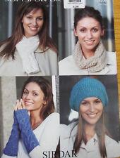 Sirdar Women's Mixed Lot Crocheting & Knitting Patterns