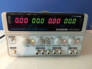GW Instek GPS-3303C, Laboratory DC Power Supply, 30V, 3A, 2 CH