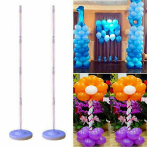 2X Balloons Column Arch Base Stand Builder Kits Birthday Wedding Party Display