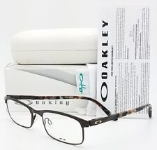 NEW Oakley Taxed RX Prescription Eye Glasses Frame Brown OX3182-0449 49mm 3182