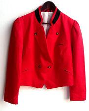 Damen Trachten Janker Jacke rot Gr. 42 v. Distler
