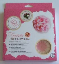 Craft Buddy Forever Flowerz - FF01PK Cute Camellias Pink - Makes 30 Flowers