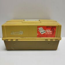PLANO Model 8106 Fishing Tackle Box w/6 Trays & 2 side Latches