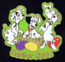 Disney Pin 10630 DLR Easter 2002 Dalmatian Pups Dogs Puppy Puppies 101 LE 1500