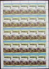 1951 BR Standard Class 6 CLAN 4-6-2 Train 50-Stamp Sheet (Leaders of the World)