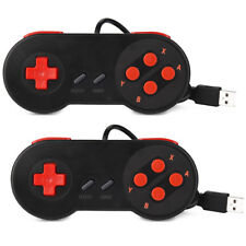 2X Super USB Nintendo Controller SNES Classic Game PAD For PC/MAC