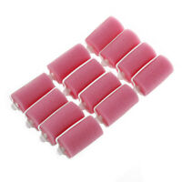 12pcs Magic Sponge Foam Cushion Hair Styling Rollers Curlers Twist Tool Salon SS