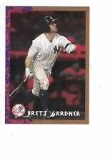 2018 Topps Jurassic Park Brett Gardner New York Yankees #TBT /691 Throwback Thur