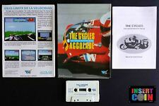 SINCLAIR JUEGO ZX SPECTRUM  THE CYCLES  (VERSION ESPAÑOLA) TESTED   48K 128K