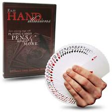 New! Autographed DVD - EASY HAND ILLUSIONS - Sleight of Hand Tricks and Magic