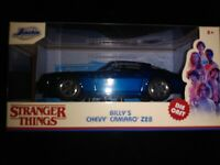 Jada Hollywood Rides: Stranger Things Billy's Chevy Camaro Z28 1/32 Scale