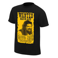 """Official WWE - Cactus Jack """"Wanted"""" Retro T-Shirt"""