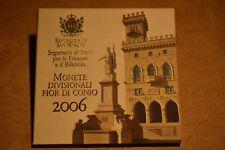 Scarce SAN MARINO, Complete set 9 pcs, Unc, of San Marino, 2006 & 5-Euro Silver