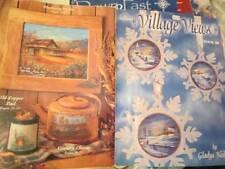 Village Views Painting Book #3 (III)-Neilsen-Longest Covered Bridge/Winter Scene