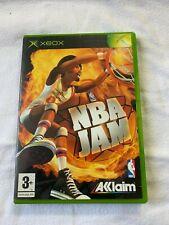 NBA Jam Original Xbox Classic Spiel-komplett-guter Zustand