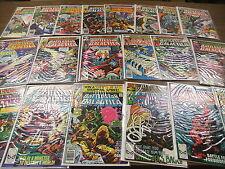 Battlestar Galactica 1979 COMIC BOOK LOT 2-22 Glen Larson Cylon Marvel Comics
