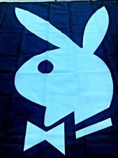 Playboy Logo Flag 3' X 5' - Attaches to Flag Pole (not included) with 3 Grommets