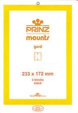 Package of 3 Prinz BLACK Mounts 233 x 172 Sonoran Desert, Etc.