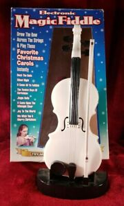Vintage Electronic Magic Fiddle by Herbko - 1999 - White TESTED
