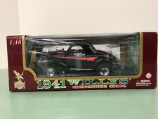 *1941 WILLYS GASSER COMPETITION COUPE 1:18 SCALE ROAD SIGNATURE by Yat Ming NIB