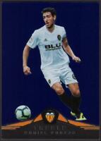 2018-19 Panini Treble BLUE Parallel #140 Daniel Parejo 33/75 Valencia CF